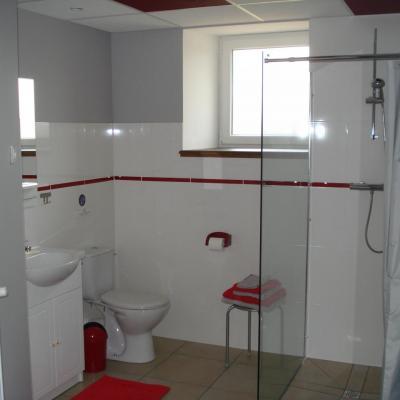salle de bain chambre rouge (1)